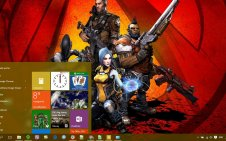 Borderlands 2 win10 theme