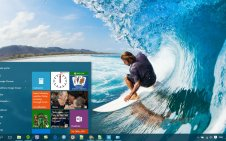 Surfing win10 theme