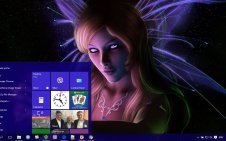 Fairy win10 theme