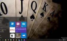 Poker win10 theme