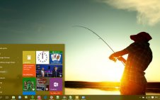 Fishing win10 theme