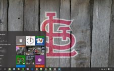 St. Louis Cardinals win10 theme
