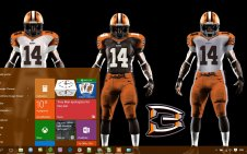 Cleveland Browns win10 theme