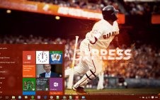 Sf Giants win10 theme