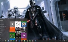 Darth Vader win10 theme