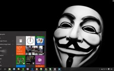 Anonymous win10 theme