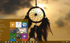Dreamcatcher win10 theme