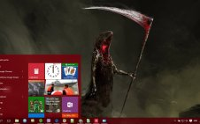 Grim Reaper win10 theme
