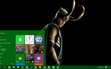 Loki win10 theme