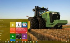John Deere win10 theme