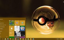 Pokeball win10 theme