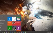Is It Wrong To Try and Pick Up Girls In a Dungeon? win10 theme