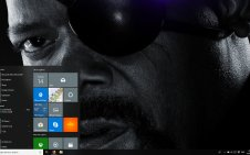 Avengers: Endgame (Dark) win10 theme