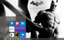 Batman Arkham City win10 theme