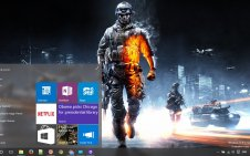Battlefield 3 win10 theme