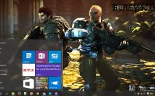 Bulletstorm win10 theme