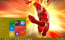 Flash win10 theme