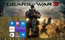 Gears of War 3 win10 theme