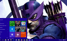Hawkeye win10 theme