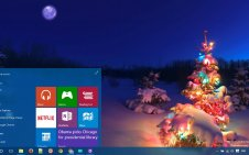 Holiday Lights win10 theme