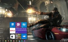 Watch Dogs win10 theme