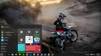 Motocross Windows 10 Theme Themepackme