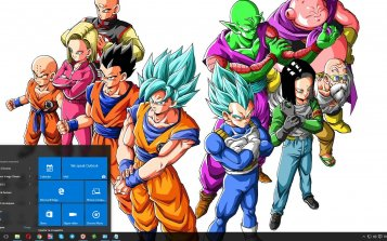 Dragon Ball Super Theme Desktop