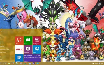 Pokemon Theme Desktop