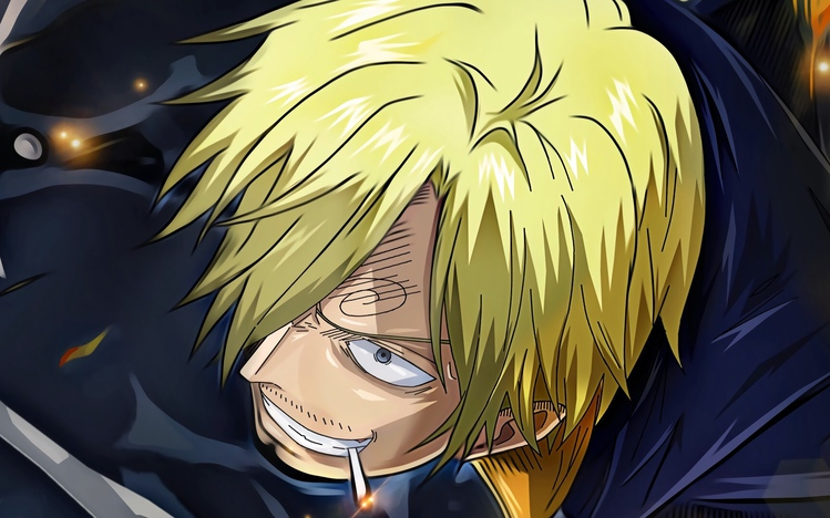 Sanji One Piece Windows 10 Theme Themepack Me