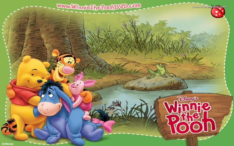 Winnie the pooh windows 10 theme themepack theme screenshot 7 voltagebd Gallery