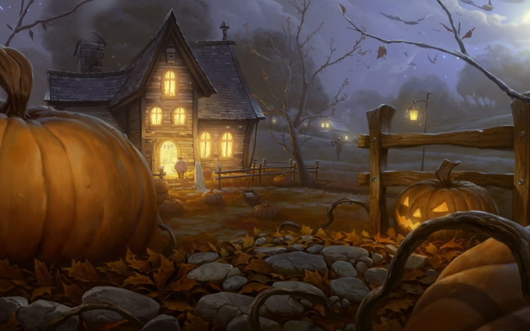 theme screenshot 7 - Windows 7 Halloween Theme
