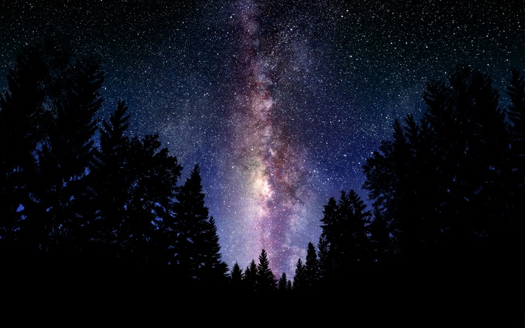 night sky screensaver